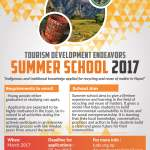Tude Summer School Flyer