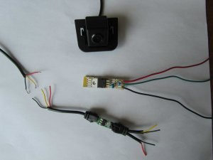 Adding backup camera to 2012 nonnav Prius 2 with touch