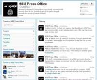 'Al-Shabaab' Twitter account