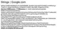 Google determining device location