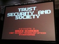 Trust, security and society – key concepts analyzed in Bruce Schneier's book