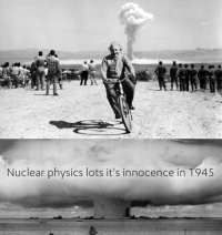 Turning technology into weapon in 1945