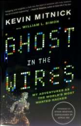 Kevin Mitnick's 'Ghost in the Wires' book cover