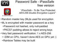 iPassSafe Free - pros and cons