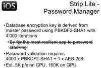 Strip Lite – Password Manager details