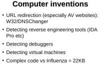 What are computer viruses better at?
