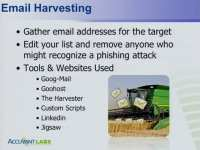 Gathering email addresses the right way