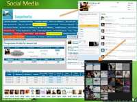 Twopcharts tool provides extensive social media statistics as well