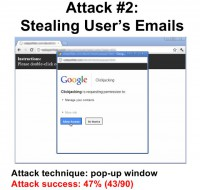 Accessing user's email account
