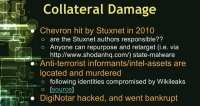 Collateral damage instances