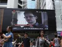 Snowden's story overwhelming the news