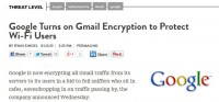 Google turning on Gmail encryption
