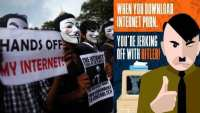 Resistance to control of the Internet