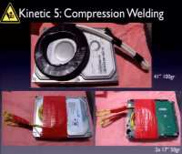 How about compression welding?