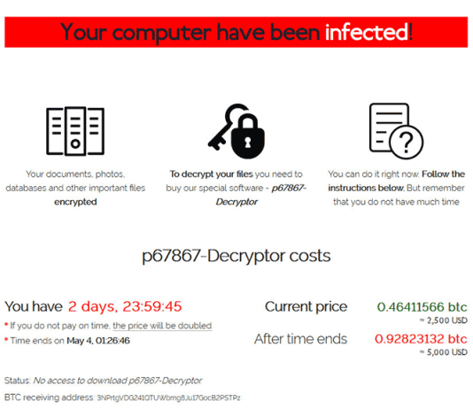 Sodinokibi ransomware: Tor website with ransom steps