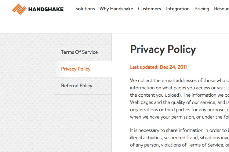Data Security Policy Template Sample