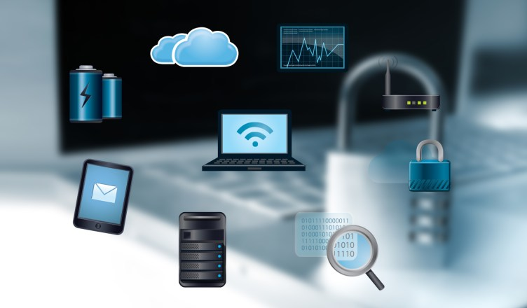 digital cyber security devices cloud mobile