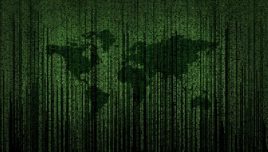 world map matrix code