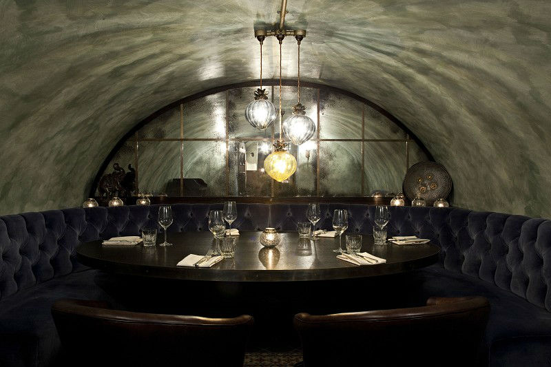 Private Dining Vault in GymKhana London