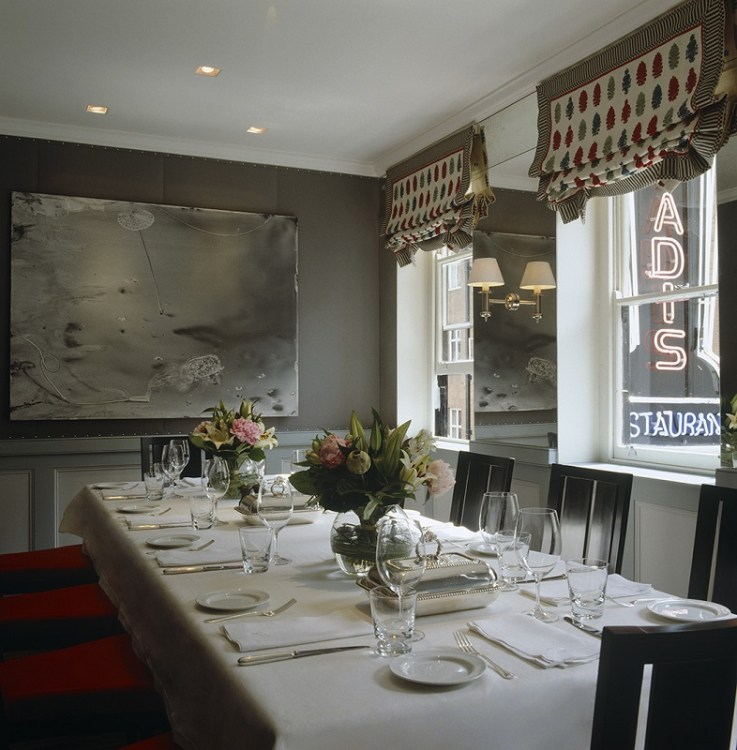 Quo Vadis Private Dining London