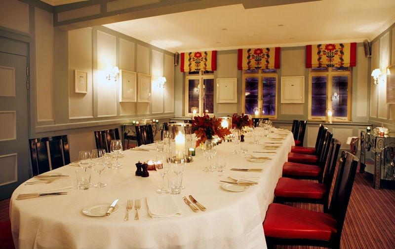 Quo Vadis Marx Private Dining Room