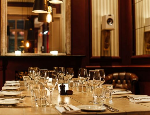 The-Oak London Private Dining Table