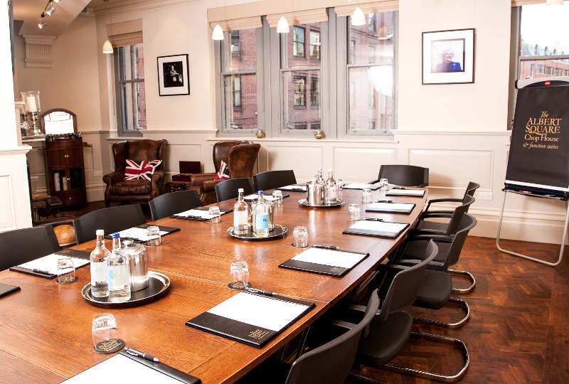 Albert Square Chop House Private Dining Room Manchester