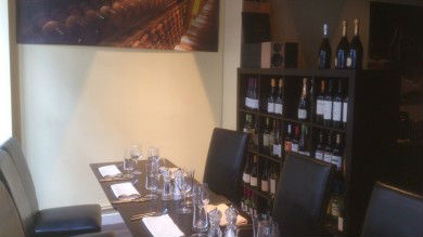 Calistoga Restaurant Private Room Edinburgh