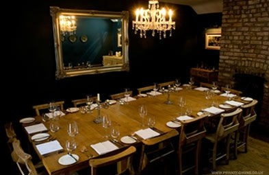 The Albion Private Dining Restaurant Room Bristol