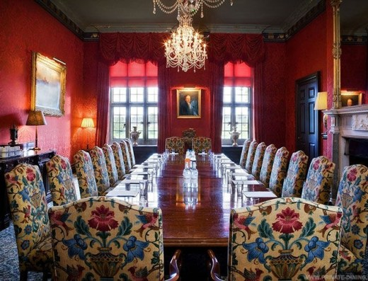 Stapleford Park Harborough Private Dining Room