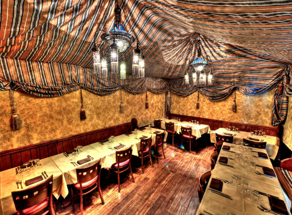 Adiva Tent Private Dining Room in London