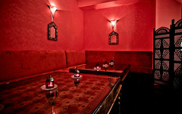 Adiva Private Dining London- Red Room