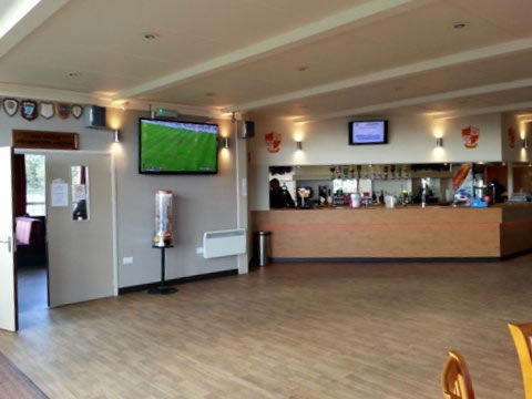 Peterborough Rugby Club Main Bar Function Area