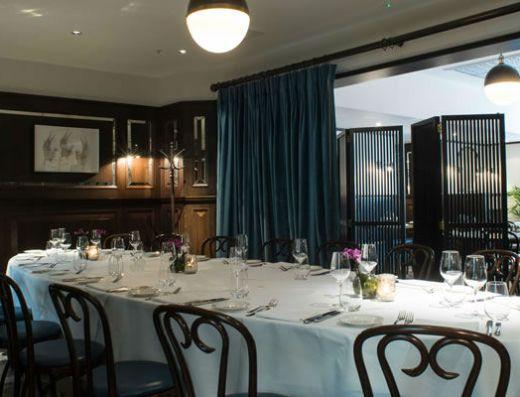 Galvin Brasserie Private Dining Room in Edinburgh
