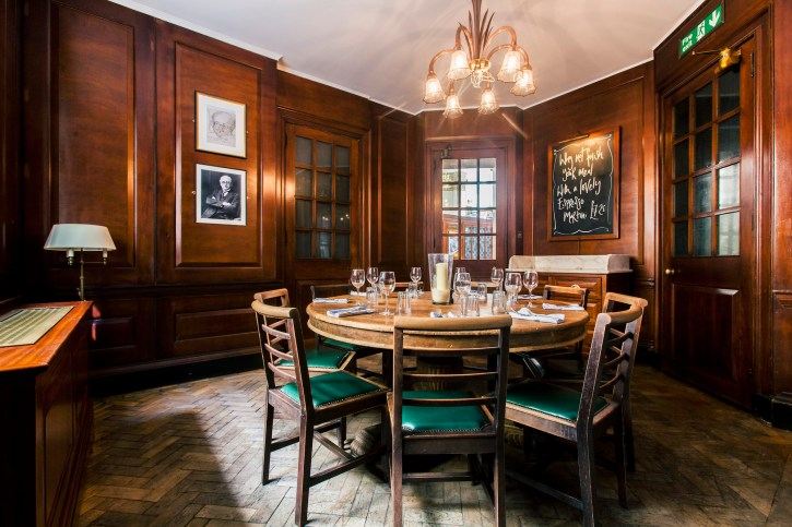 Bank Manager's Office - Private Dining Venue Hire – Manchester