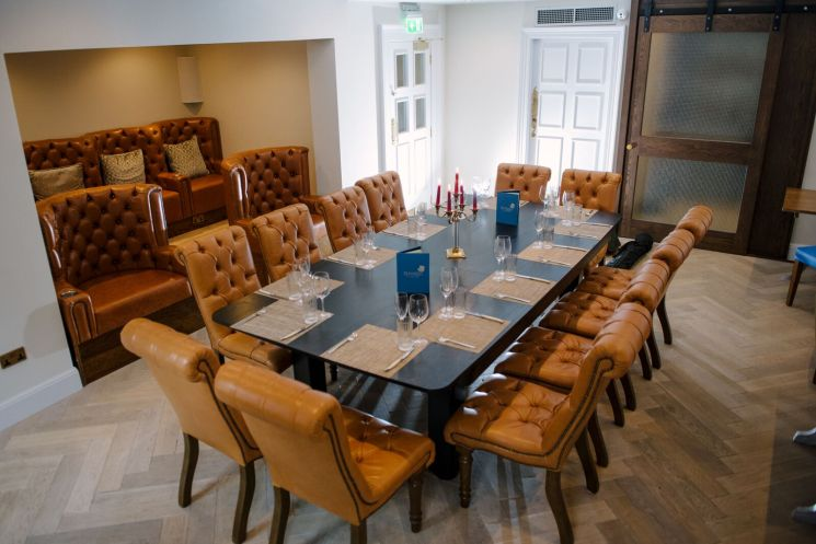 The Badger & Co Private Dining Room Edinburgh