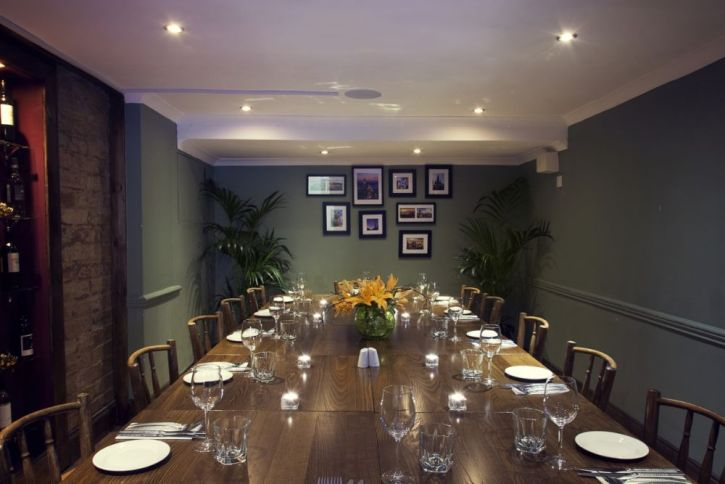 Chapter 2 Private Dining Room - 20 Seated