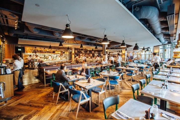 Jamie's Italian Restaurant - Venue Hire - London Bridge SE1 2BY