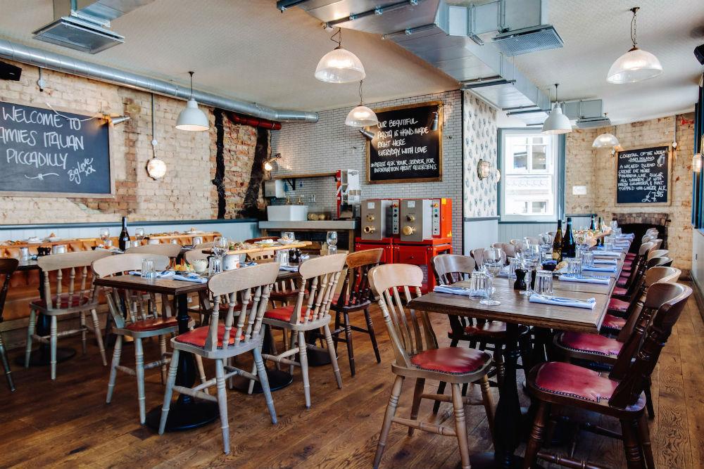 Jamie's Italian Restaurant Piccadilly