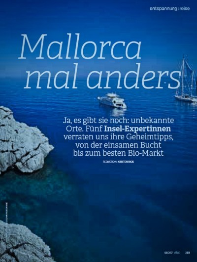 Vital Magazin Mallorca Mal anders