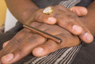 Stave ring: R 650.00 (approx. EURO 43.00)