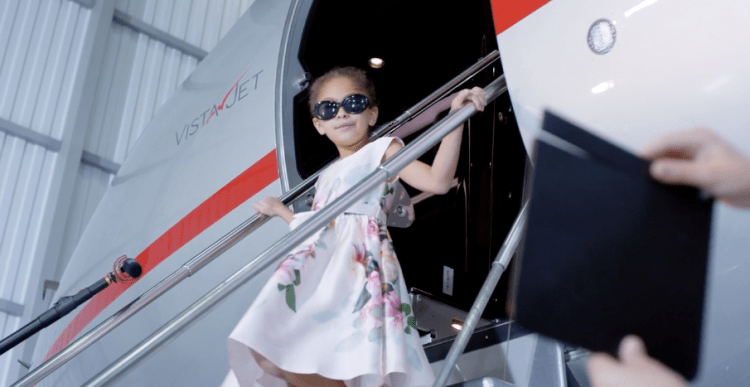 VistaJet's children's programs start at $40,000, including the private jet cost for three hours of flying