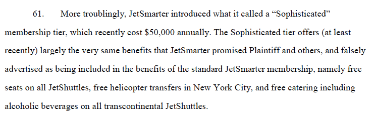 JetSmarter California lawsuit