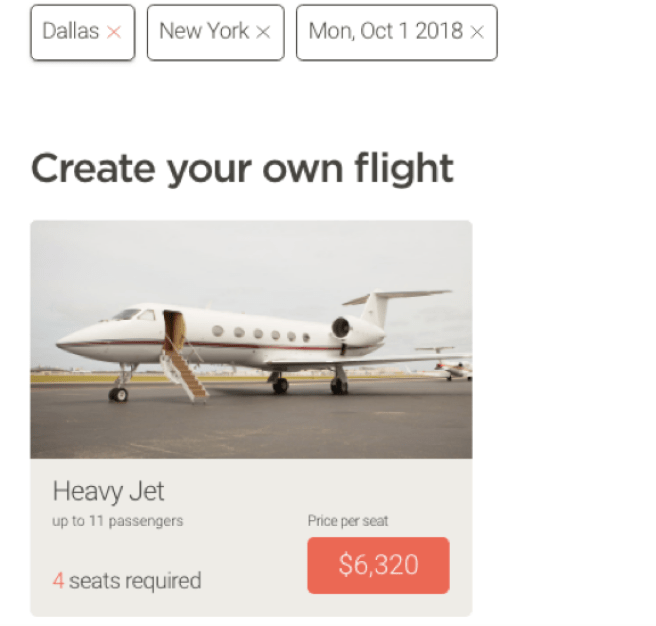 JetSmarter Dallas New York jet membership cost