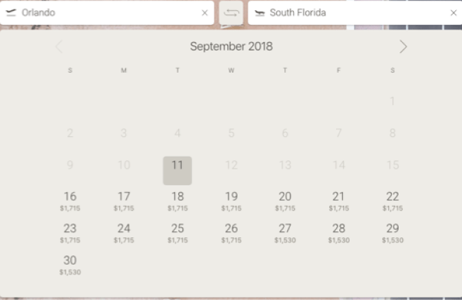 JetSmarter Orlando South Florida schedule