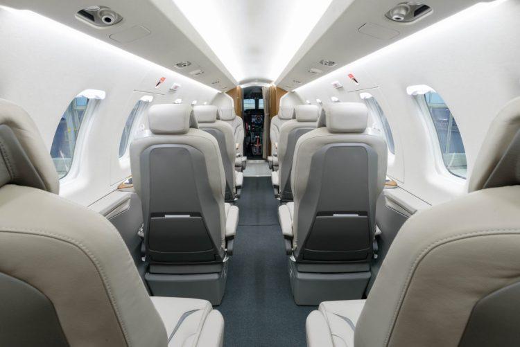 Pilatus PC-24 interior
