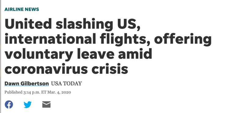 private jet travel spikes as airlines cut flights during Coronavirus crisis