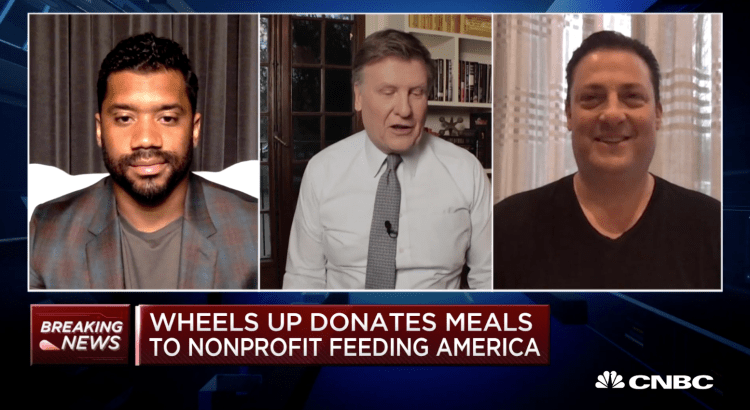 Wheels Up Meals Up CNBC Russell Wilson