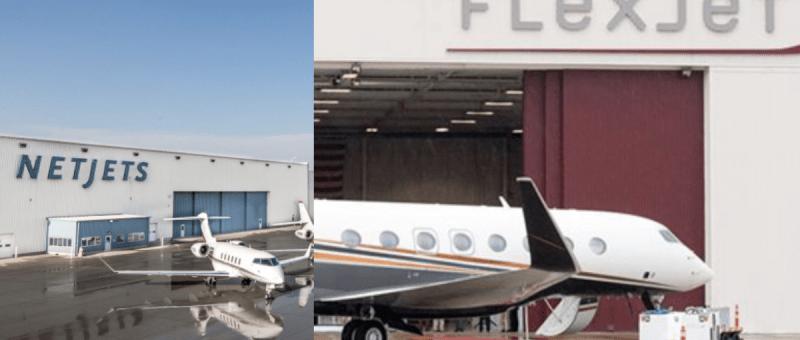 NetJets Flexjet Wheels Up Vista Jet