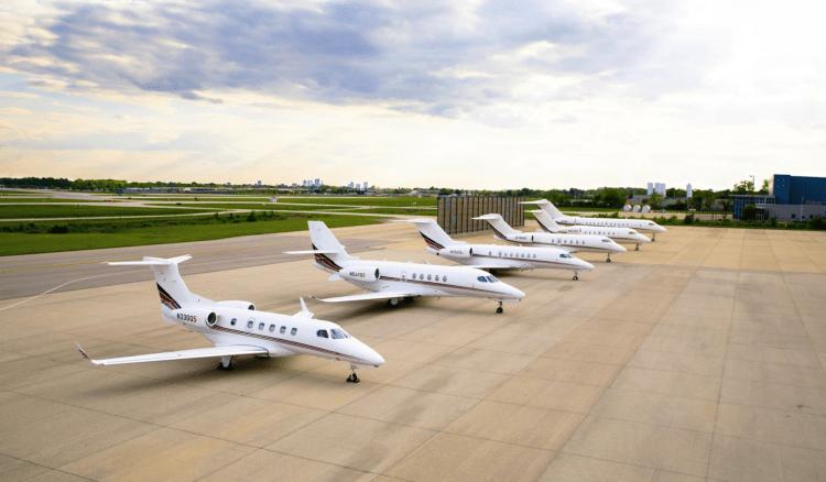 NetJets fleet June 2020